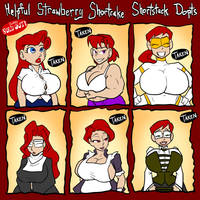 Strawberry Shortcake Dopts SOLD OUT by JonFreeman