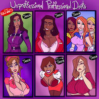 Unprofessional Professional Dopts - SOLD OUT by JonFreeman