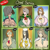 Oppai Service - SOLD OUT by JonFreeman