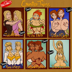 Country Twins - SOLD OUT by JonFreeman