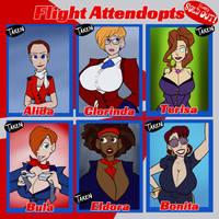 Flight Attendopts - SOLD OUT by JonFreeman