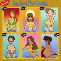 Fun Sized Pool Buddies - SOLD OUT by JonFreeman
