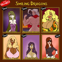 Smiling Dragons - SOLD OUT by JonFreeman
