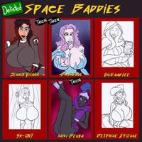 Space Baddies - 3/6 delisted by JonFreeman