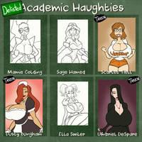 Academic Haughties - 3/6 delisted by JonFreeman