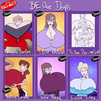 BE our dopts - SOLD OUT by JonFreeman
