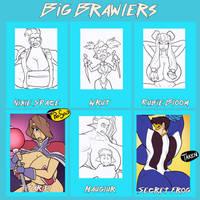 Big Brawlers - 4/6 open by JonFreeman