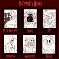 Unfriendly Things - 6/6 open by JonFreeman