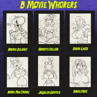 B Movie Whorers - 6/6 open by JonFreeman