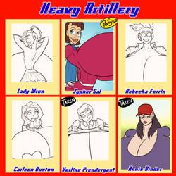 Heavy Artillery - 3/6 open by JonFreeman