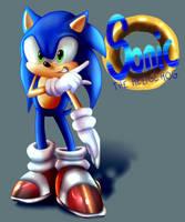Sonic the Hedgehog by AnimeSplash13