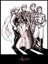 Star Wars - Dawn and Darkness by akewataru