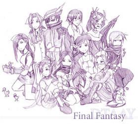 Final Fantasy - DTAAY by akewataru