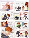 KH: ZOMG Sora, SPARKLE by akewataru