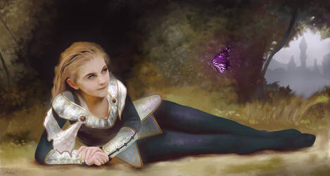 Lux, the lady of luminosity by coolchris007
