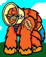 Battle Damaged Beastman by slyvenom