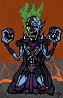 The birth of Skeletor by slyvenom