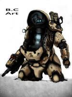 Exoskeleton Suit by oomnine