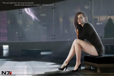 Miranda Lawson - Mass Effect by oomnine