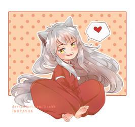 [Fan Art] Chibi Inuyasha by hoabb