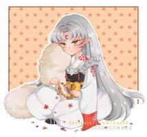 [Fan Art] Sesshoumaru by hoabb
