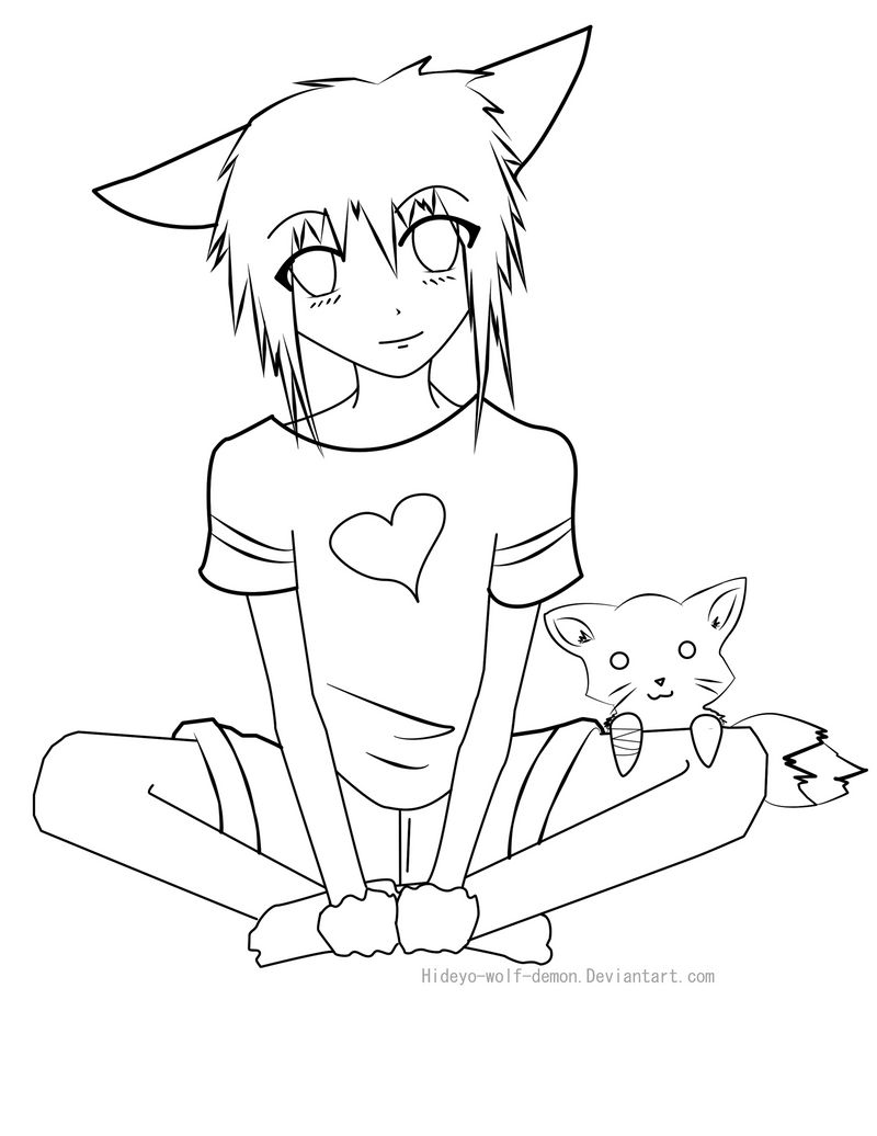 innocence coloring page by hideyo wolf demon on deviantart