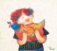 Dear chicken by miumzoo