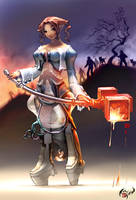 Ashaire-Ninja Talkshow concept by HOON