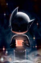 I AM ATOM -Astroboy fan art by HOON