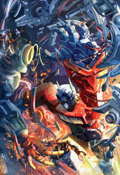 Transformer- optimus prime by HOON