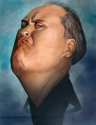 Portrait of Dick by HOON