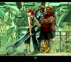 :XII: The Giant Robot Factory by HOON