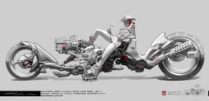 SHURIKEN: vehicle concept 1of3 by HOON