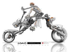 SHURIKEN: vehicle concept 2of3 by HOON