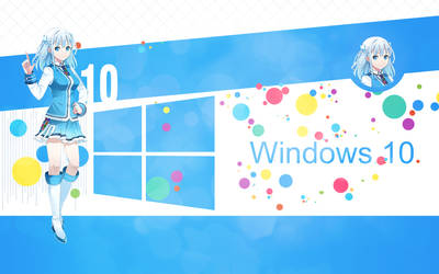 Wallpaper Windows 10 by SaenyanEin
