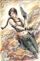 The Tomb Raider by Solanum80