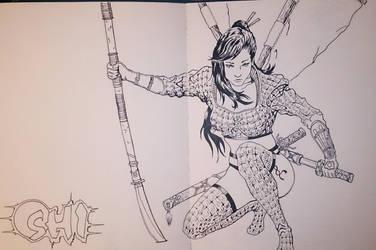 shi con Sketch 2014 by Solanum80