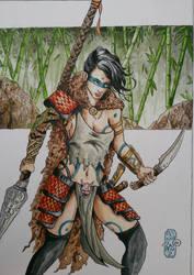 Amazone  by Solanum80