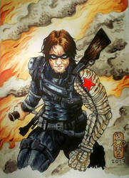 Winter Soldier commission  by Solanum80
