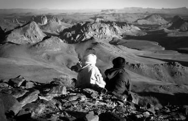 Two Tuareg pepole by roningumi