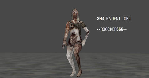 Silent Hill 4 Patient by roocker666