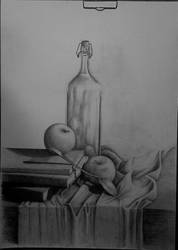 Still life 8 - own composition (not finished) by Ewwwa