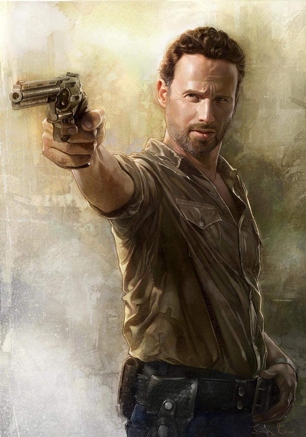 The Walking Dead - Rick Grimes by JohnLaw82