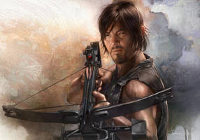 The Walking Dead - Daryl Dixon by JohnLaw82
