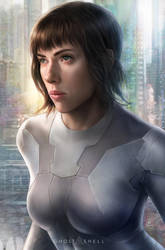 Ghost in the Shell by JohnLaw82