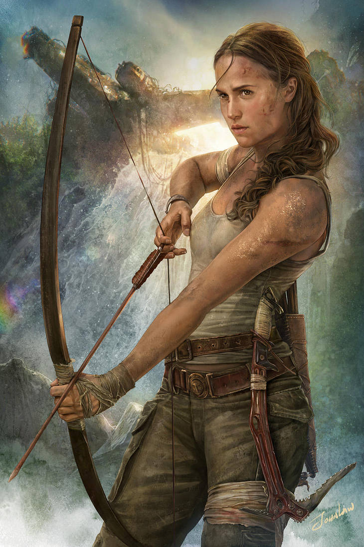 Tomb Raider- Lara Croft by JohnLaw82