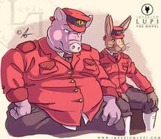 Imperium Lupi - Werner and Borce by Imperiumlupi