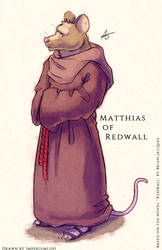 Fanart - Matthias of Redwall by Imperiumlupi
