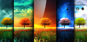 Awesome Land pro Live wallpaper by BaxiaArt