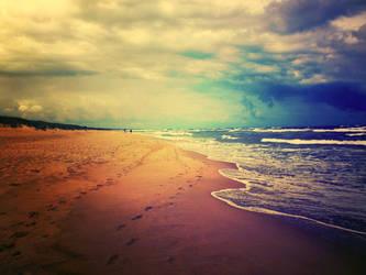 sea side... by BaxiaArt